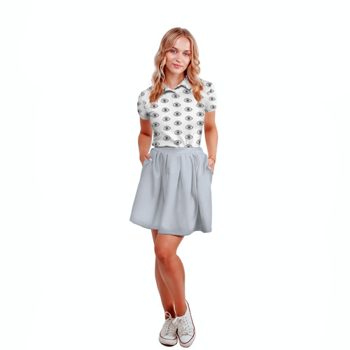 Женская рубашка поло 3D  Фото 04, Noragami