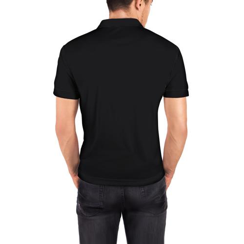 Мужская рубашка поло 3D  Фото 04, Кот космонавт