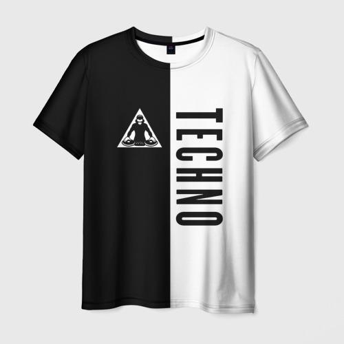 Мужская футболка 3D  Фото 01, Techno