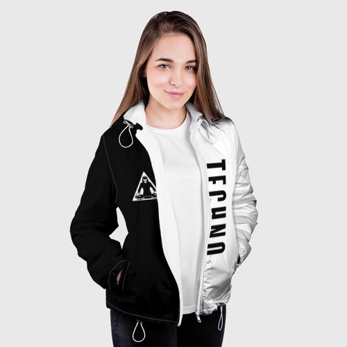 Женская куртка 3D  Фото 04, Techno