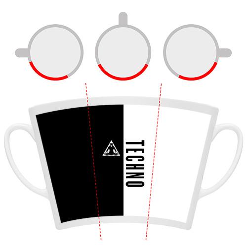 Кружка Латте  Фото 06, Techno