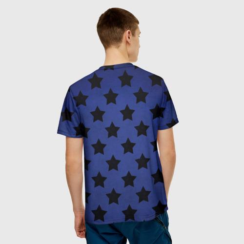 Мужская футболка 3D 'Алексей душа компании'