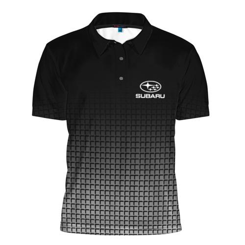 Мужская рубашка поло 3D  Фото 01, SUBARU SPORT