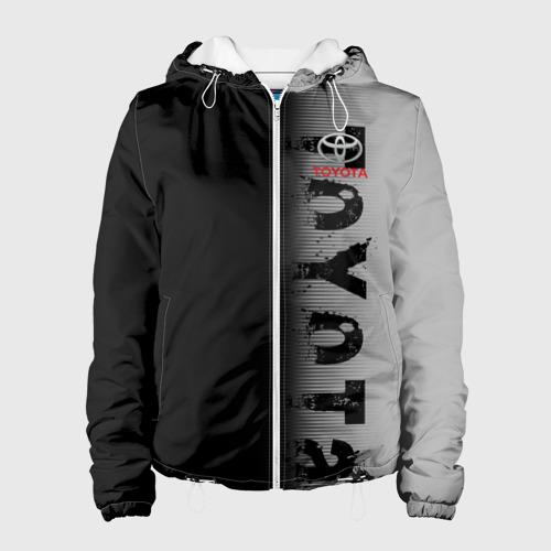 Женская куртка 3D  Фото 01, TOYOTA SPORT