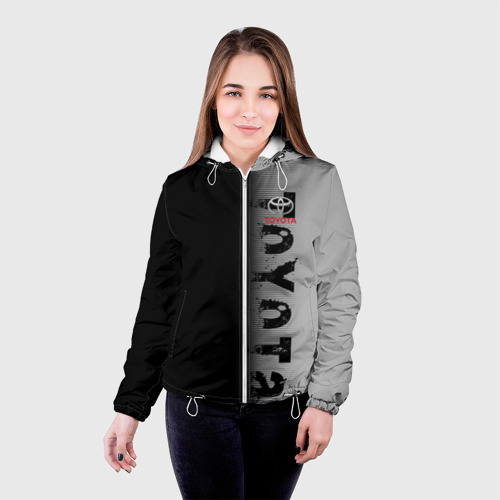 Женская куртка 3D  Фото 03, TOYOTA SPORT
