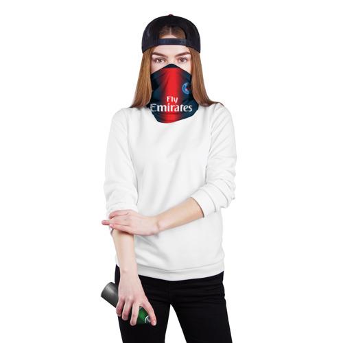 Бандана-труба 3D  Фото 02, PSG Форма Новая Home 18/19