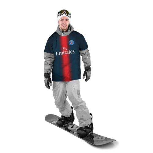 Накидка на куртку 3D  Фото 03, PSG Форма Новая Home 18/19