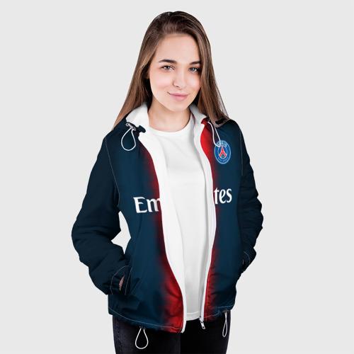 Женская куртка 3D  Фото 04, PSG Форма Новая Home 18/19