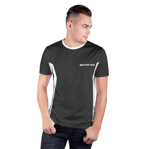 Мужская футболка 3D спортивная  Фото 03, AMG SPORT