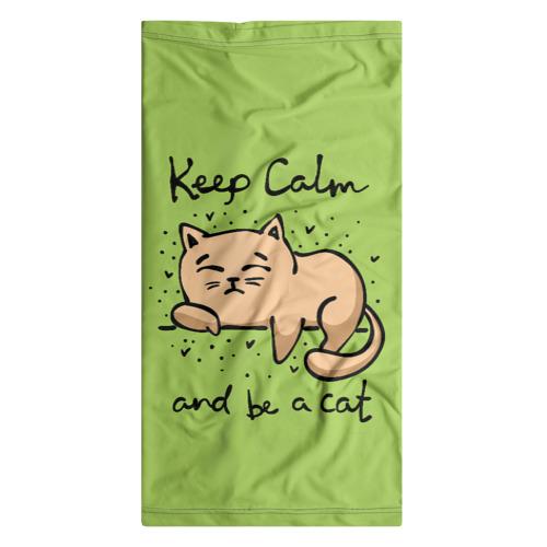 Бандана-труба 3D  Фото 07, Keep Calm and be a cat