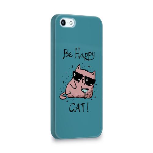 Чехол для Apple iPhone 5/5S 3D  Фото 02, Быть счастливым котом!