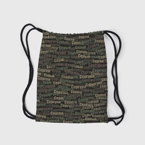 Рюкзак-мешок 3D  Фото 05, Именной камуфляж. Сергей