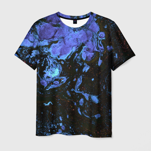 Мужская футболка 3D 'watercolor pattern'