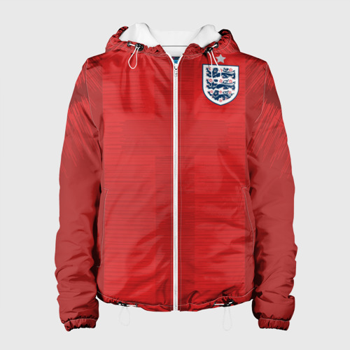 Женская куртка 3D  Фото 01, England away WC 2018