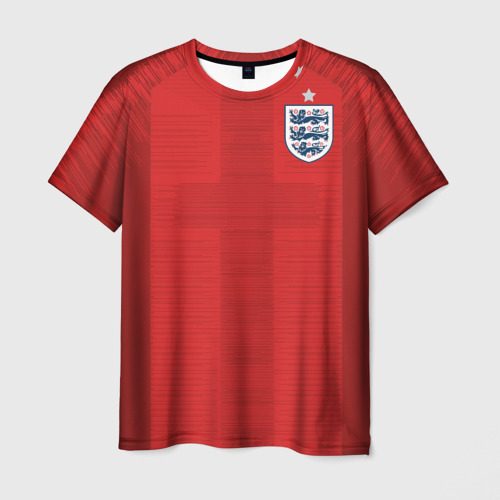 Мужская футболка 3D England away WC 2018