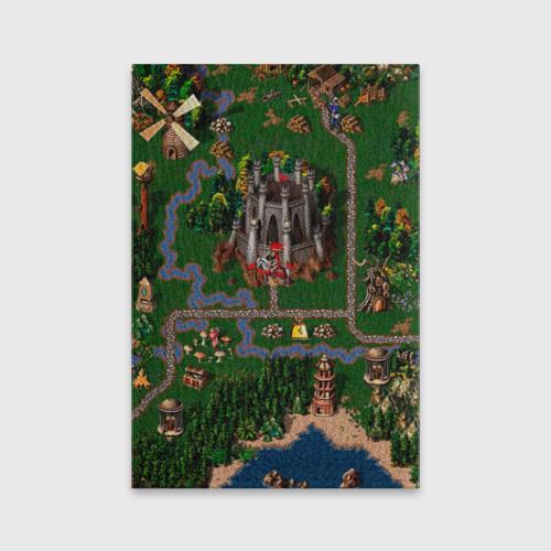 Обложка для паспорта матовая кожа  Фото 02, Карта