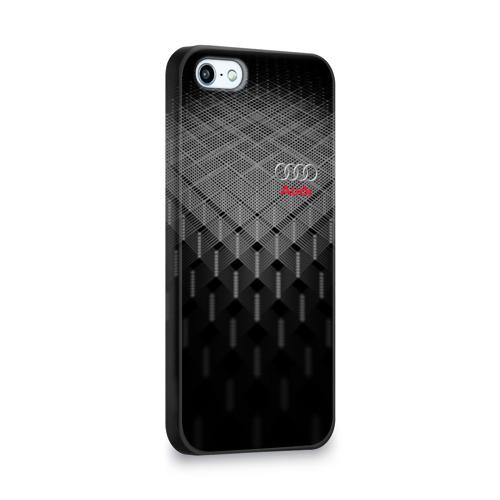 Чехол для Apple iPhone 5/5S 3D  Фото 02, AUDI SPORT
