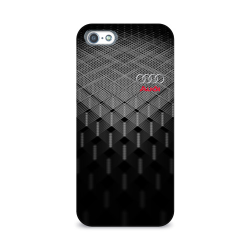 Чехол для Apple iPhone 5/5S 3D  Фото 01, AUDI SPORT