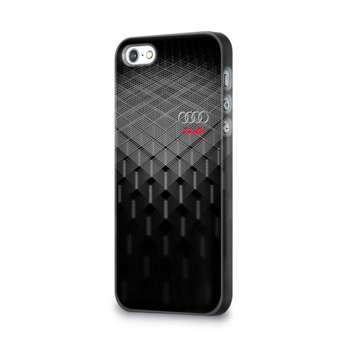 Чехол для Apple iPhone 5/5S 3D  Фото 03, AUDI SPORT