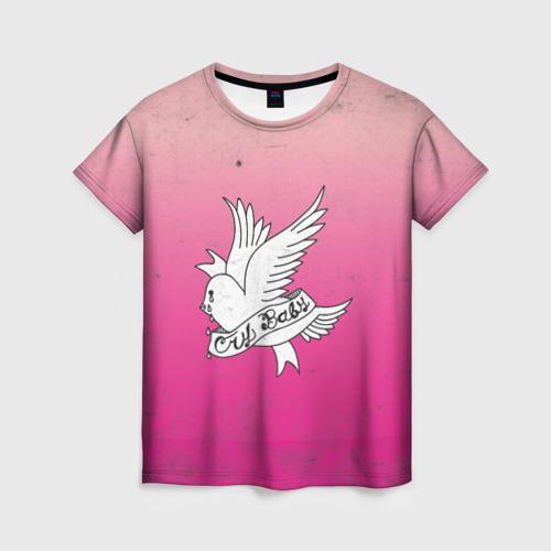 Женская футболка 3D Crybaby Фото 01
