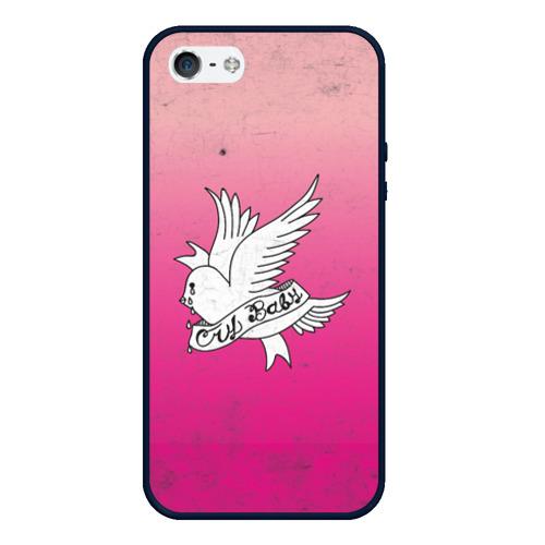 Чехол для iPhone 5/5S матовый Crybaby Фото 01
