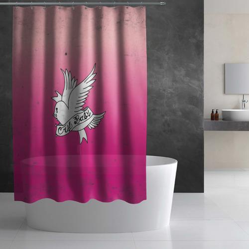 Штора 3D для ванной Crybaby Фото 01