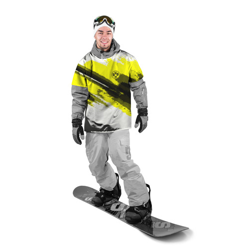 Накидка на куртку 3D  Фото 03, FC Borussia Original 2018
