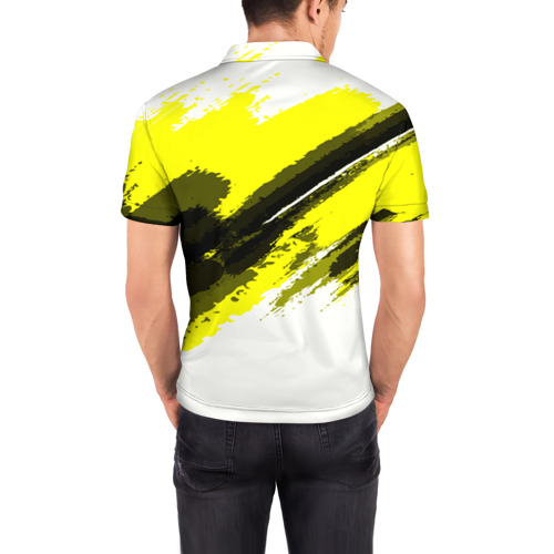 Мужская рубашка поло 3D  Фото 04, FC Borussia Original 2018