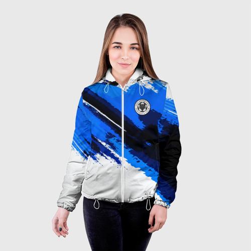 Женская куртка 3D  Фото 03, FC Leicester Original 2018
