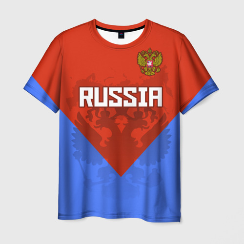 Мужская футболка 3D  Фото 03, Russia