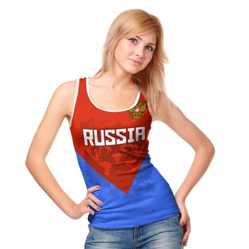 Женская майка 3D  Фото 05, Russia