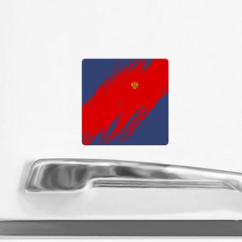 Магнит виниловый Квадрат  Фото 02, RUSSIA SPORT