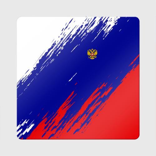 Магнит виниловый Квадрат  Фото 01, RUSSIA SPORT