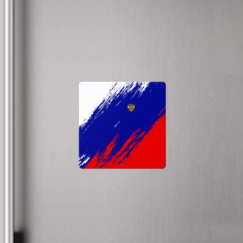Магнит виниловый Квадрат  Фото 04, RUSSIA SPORT