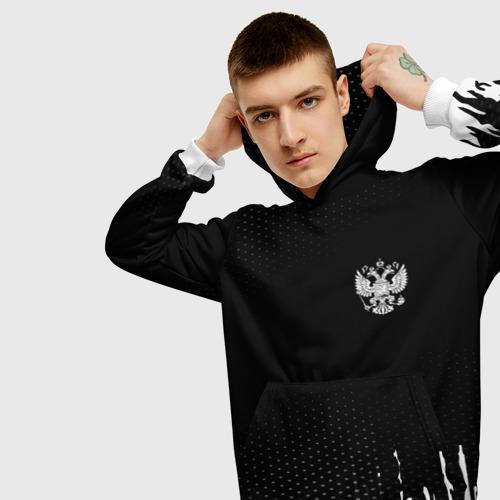 Мужская толстовка 3D Russia black collection Фото 01