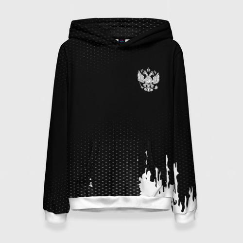 Женская толстовка 3D Russia black collection Фото 01