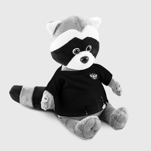 Енотик в футболке 3D Russia black collection Фото 01