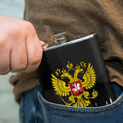 Фляга  Фото 04, RUSSIA COLLECTION BLACK 2018
