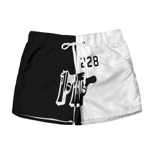 Женские шорты 3D 228