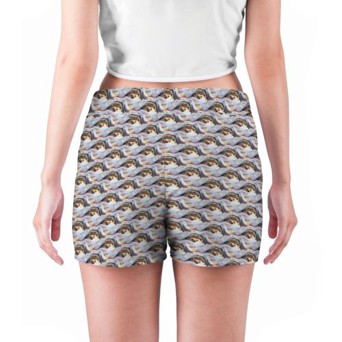 Женские шорты 3D  Фото 04, Ежики