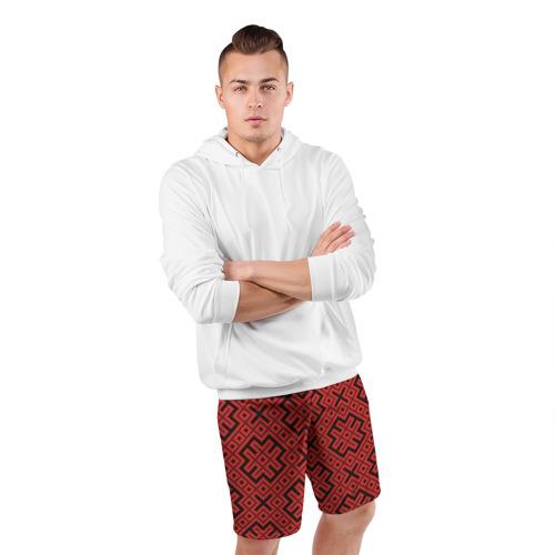 Мужские шорты 3D спортивные  Фото 05, Обережная Вышивка