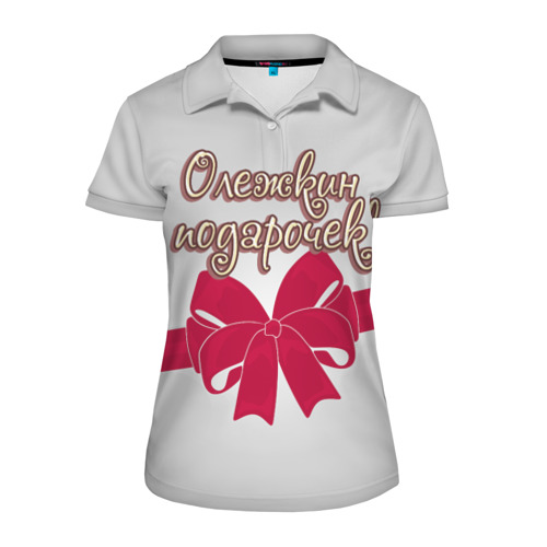 Женская рубашка поло 3D