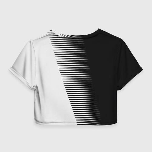 Женская футболка 3D укороченная  Фото 02, MITSUBISHI SPORT