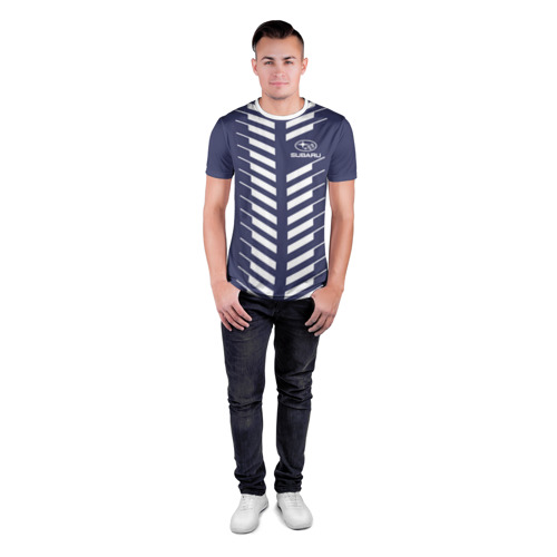 Мужская футболка 3D спортивная  Фото 04, SUBARU SPORT