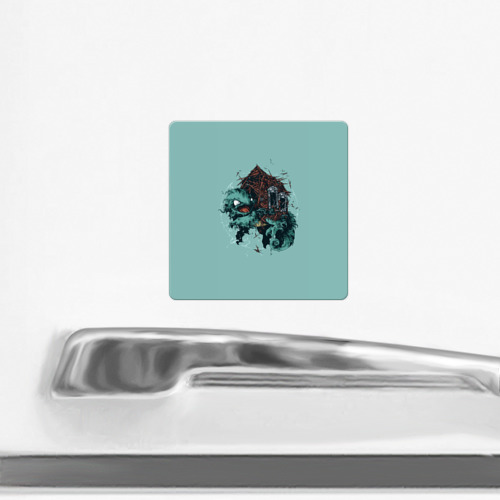 Магнит виниловый Квадрат  Фото 02, Чермандер