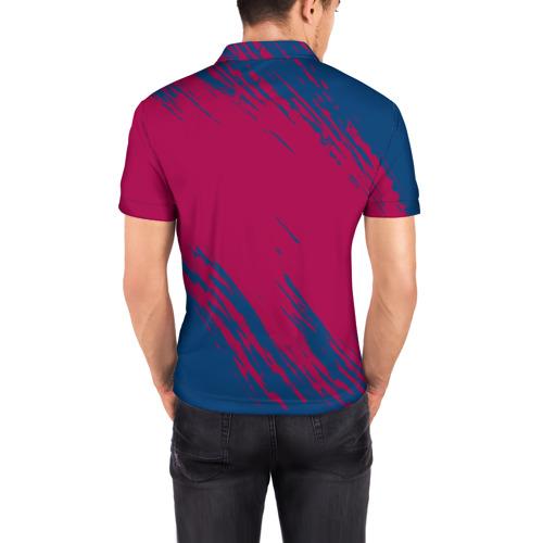 Мужская рубашка поло 3D  Фото 04, FC Barca 2018 Original