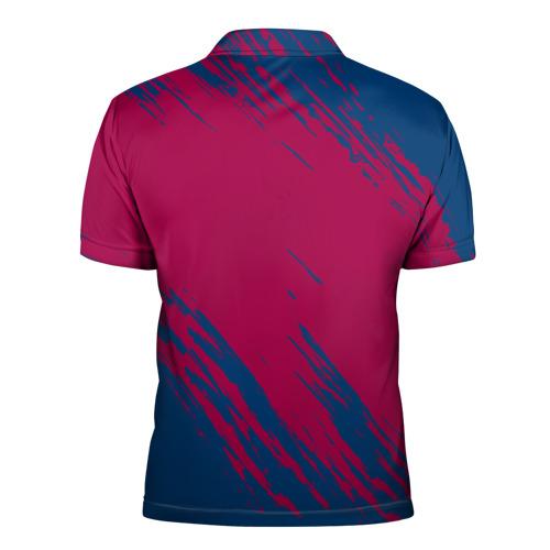 Мужская рубашка поло 3D  Фото 02, FC Barca 2018 Original