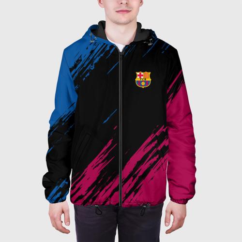 Мужская куртка 3D FC Barca 2018 Original Фото 01