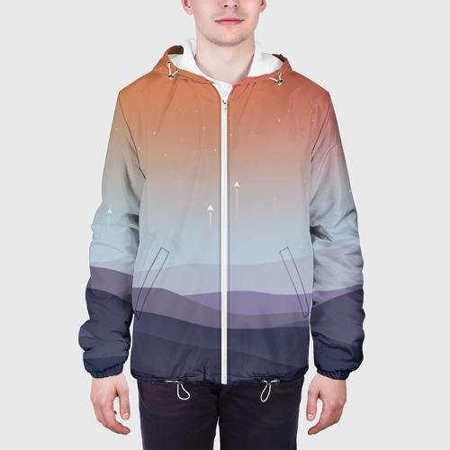 Мужская куртка 3D  Фото 04, Безмятежность