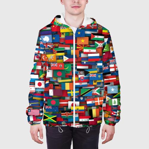Мужская куртка 3D  Фото 04, Флаги всех стран